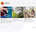 Internetové stránky badminton v Žatci