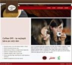 Internetové stránky firmy Coffee Offi