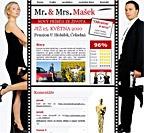Svatební internetové stránky Mr. & Mrs. Mašek