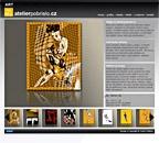 Internetové stránky výtvarníka Karla Pobřísla