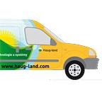 Polep firemního vozu firmy Haug-land