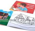 Omalovánky pro děti - rodinné domy
