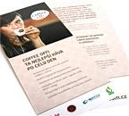 Leták prezentace firmy Coffee Offi