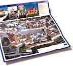 Skládačka - průvodce památkovou zónou města Chomutova