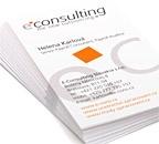 Firemní navštívenky e-consulting